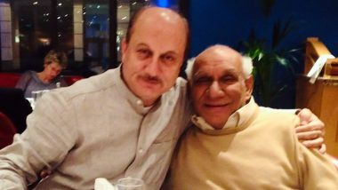 Anupam Kher Remembers Late Yash Chopra, Actor Pens Loving Note in the Memory of Bollywood's Iconic Filmmaker