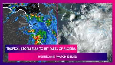 Tropical Storm Elsa To Hit Parts Of Florida, Hurricane Watch Issued For The State