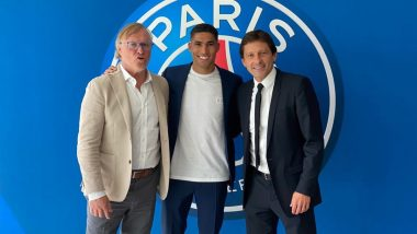 PSG Sign Achraf Hakimi From Inter Milan On Five-Year Deal