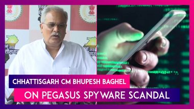 Pegasus Spyware Scandal: Bhupesh Baghel Says NSO Group Visited Chhattisgarh, Asks Centre To Come Clean