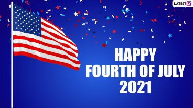 Fourth of July 2021 Wishes and HD Images: Send Happy 4th of July Greetings, WhatsApp Messages and Quotes to Celebrate US Independence Day