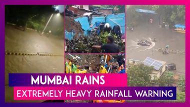 Mumbai Rains: Over 200 mm Rainfall Recorded, Suburbs Inundated; Extremely Heavy Rainfall Warning In Place