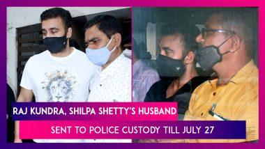 Raj Kundra, Shilpa Shetty's Husband, Sent To Police Custody Till July 27; Lawyer Says Content Not Porn