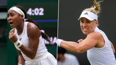 Coco Gauff vs Angelique Kerber, Wimbledon 2021 Live Streaming Online: How to Watch Free Live Telecast of Women's Singles Tennis Match in India?