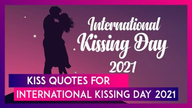 International Kissing Day 2021: Romantic Kiss Quotes That Will Make You Go for the Ultimate Lip-Lock
