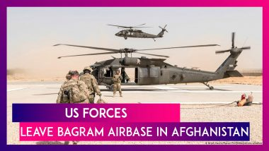 US Forces Leave Bagram Airbase In Afghanistan As Complete Exit Of American Forces Nears