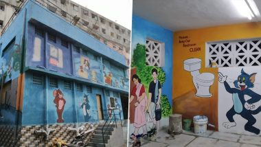 Mumbai Gets Its Biggest Ever 88-Seater Jumbo Public Toilet at Juhu Gully in Andheri (See Pics)