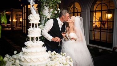 Blake Shelton, Gwen Stefani Make Their Marriage Instagram Official, Share Pics From Wedding Ceremony