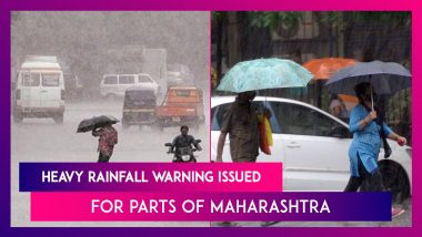 Red Alert Issued By IMD For Parts Of Maharashtra As South West Monsoon Advances, Heavy Rainfall Warning Issued