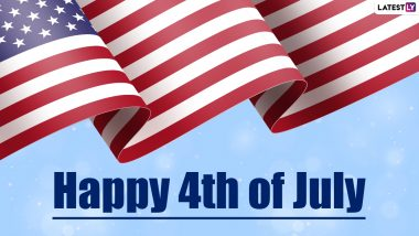 Happy 4th of July 2021 HD Images & Wishes: Messages, Greetings & Quotes to Celebrate American Independence Day