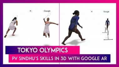 Tokyo Olympics: PV Sindhu's Skills In 3D With Google AR; All You Need To Know