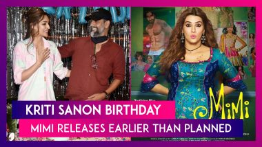 Kriti Sanon's Birthday Was All About Sparkle & Smiles; Mimi Releases 4 Days Earlier Than Planned