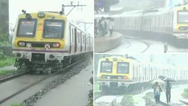 Mumbai Local Train Services Hit Due to Heavy Rains and Water-Logging