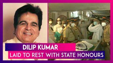 Dilip Kumar, Veteran Actor Laid To Rest With State Honours; Dharmendra, Shah Rukh Khan, Anil Kapoor, Karan Johar Pay Last Respects