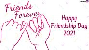 International Friendship Day 2021 Greetings: WhatsApp Messages, HD Images, Telegram Stickers, Quotes and SMS to Your Best Pals