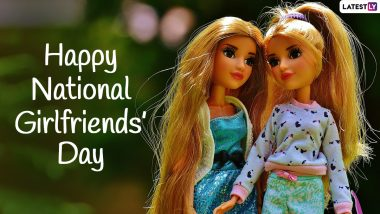 National Girlfriends' Day 2021 Greetings: Fun Quotes, HD Images, Wallpapers, WhatsApp Messages To Wish Your Girl Pals