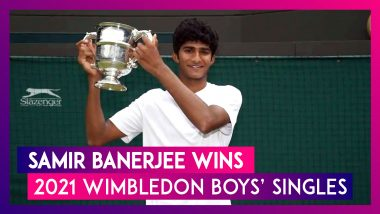 Samir Banerjee, Indian-Origin Player, Wins 2021 Wimbledon Boys' Singles Title