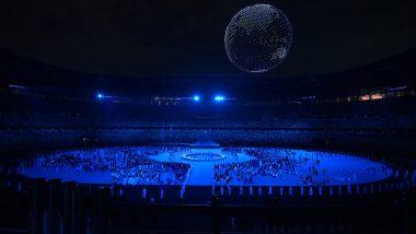 Tokyo Olympics 2020: Drones Form Revolving Globe Above Olympic Stadium, Watch Video