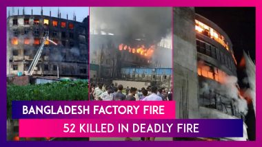 Bangladesh Factory Fire: 52 Killed In Deadly Fire At Food Factory Outside Dhaka