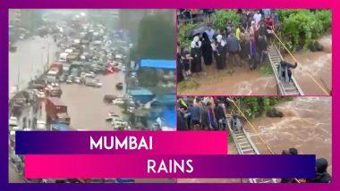 Mumbai Rains: Dahisar River Swells, Floods Sanjay Gandhi National Park, 116 Tourists Rescued From Kharghar Hills