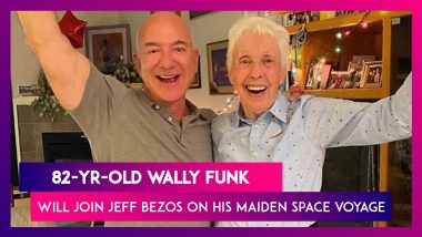 Wally Funk, 82-Year-Old Female Aviator Will Join Jeff Bezos On His Maiden Space Voyage
