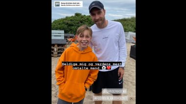 Christian Eriksen Spotted for the First Time Since Getting Discharged From Hospital, Check Post