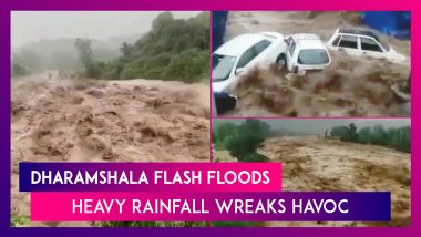 Dharamshala Flash Floods: Heavy Rainfall Wreaks Havoc In Himachal Pradesh