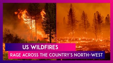 US Wildfires Rage Across The Country's North-West: 13 States, 1 Million Hectares Impacted