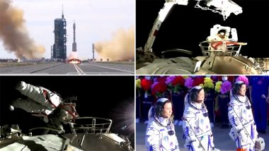 China's First Spacewalk at Tiangong Station (Watch Video)