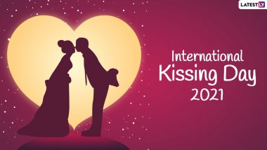 International Kissing Day 2021 Wishes: Latest Quotes, Greetings, WhatsApp Messages, HD Images, and Wallpapers to Celebrate Kisses