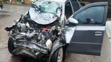 Karnataka Accident: Car Collides With Wine Tanker in Kalaburagi, 4 Dead, 1 Injured