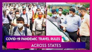Covid-19 Pandemic Travel Rules Across States; All You Need To Know
