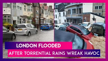 London Flooded After Torrential Rains Wreak Havoc, Drenches Homes, Subway