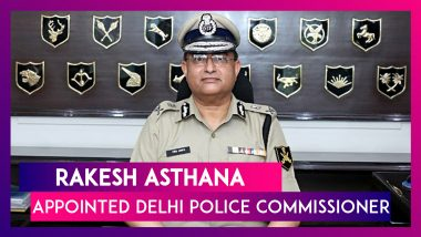 Rakesh Asthana Appointed Delhi Police Commissioner Three Days Before Retirement