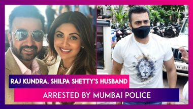 Raj Kundra, Shilpa Shetty's Husband Arrested By Mumbai Police, For Making Porn Films For Apps