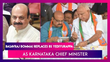 Basavraj Bommai Replaces BS Yediyurappa As Karnataka Chief Minister