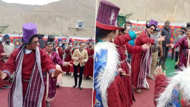 Laal Singh Chaddha: Aamir Khan And Kiran Rao Spotted Dancing With Locals In Ladakh (Watch Videos)