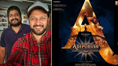 Adipurush: Vatsal Seth Joins Prabhas And Saif Ali Khan's Movie; Shares A Picture With Director Om Raut