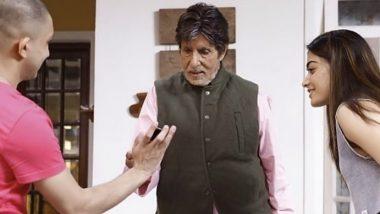 Goodbye: Amitabh Bachchan's Look From The Film, Co-starring Rashmika Mandanna, Gets Leaked Online!