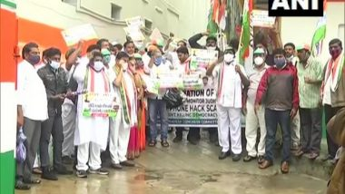 India News | Andhra Congress President, Others Detained in Vijayawada