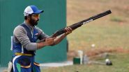 Mairaj Ahmad Khan and Angad Vir Singh Bajwa at Tokyo Olympics 2020, Shooting Live Streaming Online: Know TV Channel & Telecast Details for Men's Skeet Event Day 2 Coverage