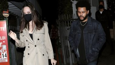 Angelina Jolie Spotted With The Weeknd; Sparks Relationship Rumours (View Pics)