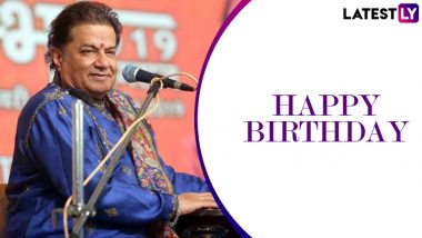 Anup Jalota Birthday Special: From 'Aisi Lagi Lagan' to 'Main Nahi Maakhan Khayo', 5 Best Bhajans of the Indian Singer (Watch Videos)