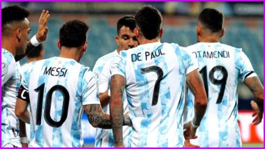 How to Watch Argentina vs Colombia, Copa America 2021 Live Streaming Online in India? Get Free Live Telecast Of South American Championship Match Score Updates on TV