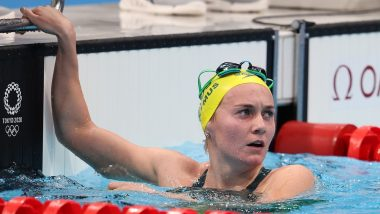 Tokyo Olympics 2020: Australia's Ariarne Titmus Dethroned Five-time Olympic Gold Medallist Katie Ledecky of the Women's Freestyle 400 m for Swimming