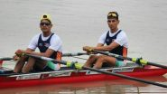 Arjun Lal & Arvind Singh at Tokyo Olympics 2020, Rowing Live Streaming Online: Know TV Channel & Telecast Details for Men's Lightweight Double Sculls Coverage