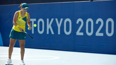 Tokyo Olympics 2020: Wimbledon Champion Ashleigh Barty Knocked Out by Sara Sorribes Tormo  in 1st Round