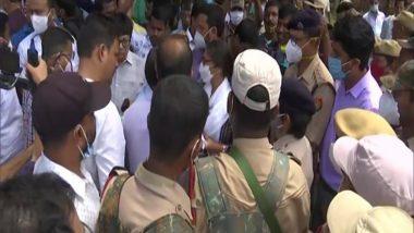 Assam-Mizoram Border Dispute: Police Stop Congress Delegation at Dholai in Cachar District