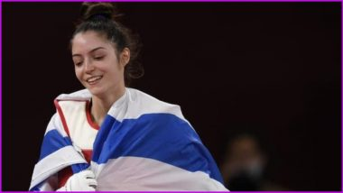 Avishag Semberg, 19, Wins Israel's First Olympic Medal in Taekwondo With Bronze at the Tokyo Games 2020