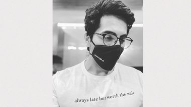 Doctor G: Ayushmann Khurrana Starts Shoot of His Third Film in Pandemic, Shares Monochrome Pic From the Sets on Day 1